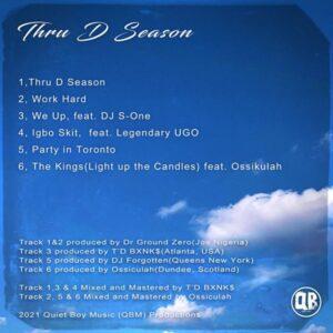 Chizzy Tha Don Thru D season tracklist