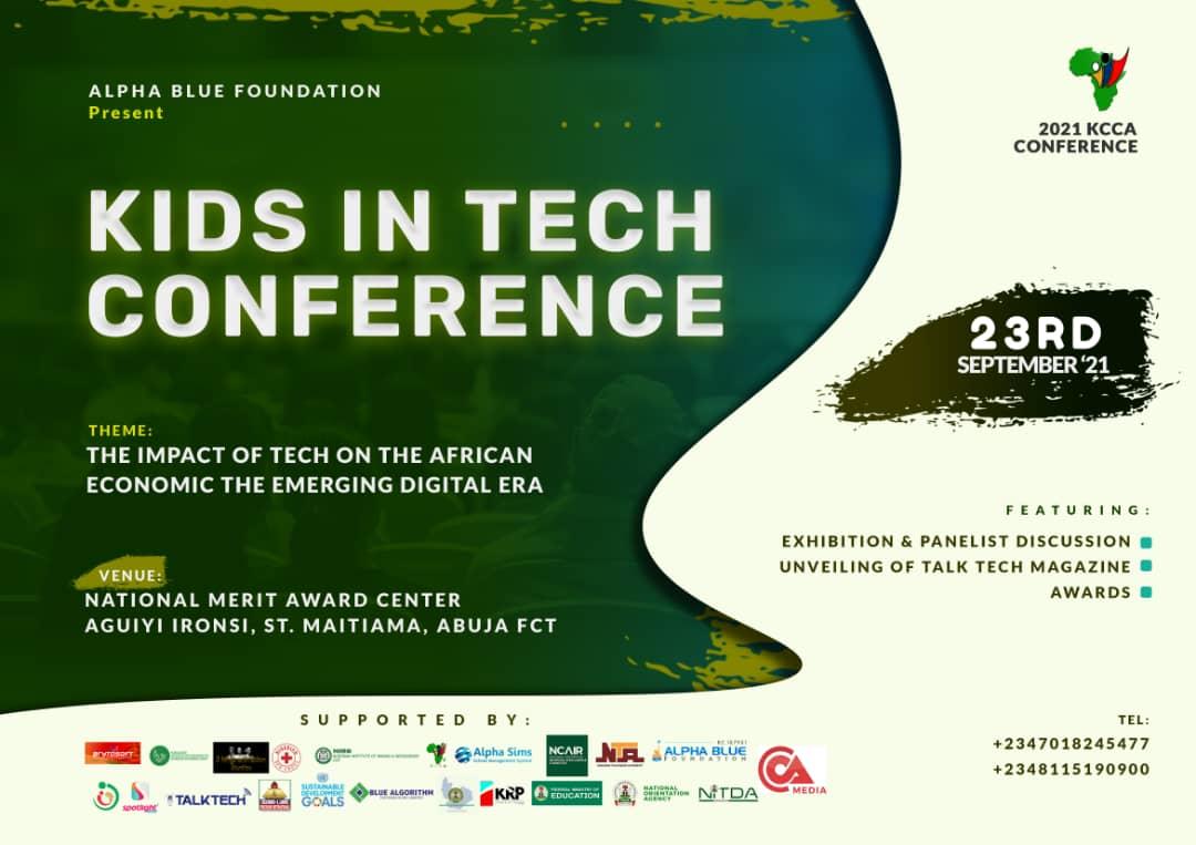 3rd Kids in Tech Conference 2021 registration portal opens
