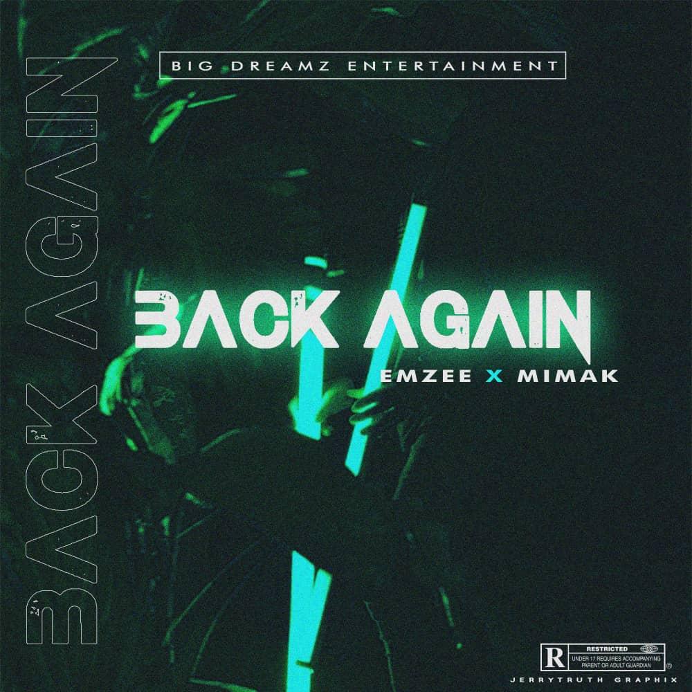 Emzee ft Mimak Back again artwork