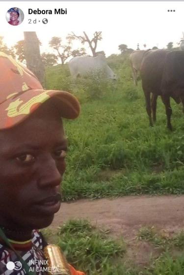 Deborah mbi robbed by herdsmen