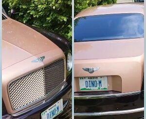 Dino melaye's Bentley